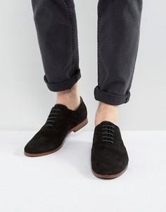 Черные замшевые туфли дерби Aldo Coallan - Черный