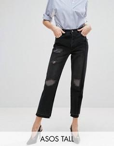 Черные прямые джинсы ASOS TALL - Черный