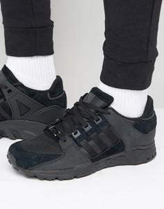 Черные кроссовки adidas Originals Equipment Support - Черный