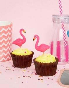 Свечи на день рождения в виде фламинго Sunnylife - Мульти