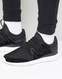 Кроссовки adidas Originals Tubular Radial - Черный