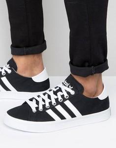 Черные кроссовки adidas Originals Court Vantage - Черный