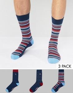 3 пары носков в полоску и горошек Original Penguin - Мульти