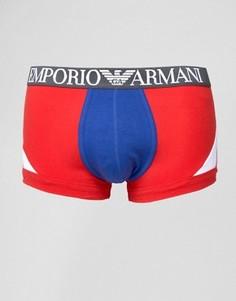Боксеры-брифы Emporio Armani - Красный