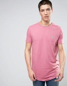 Длинная футболка с необработанным краем Le Breve - Розовый
