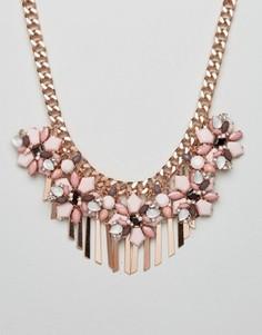 Ожерелье с металлической цепочкой и отделкой ALDO - Золотой