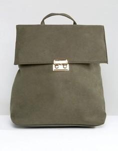 Рюкзак с клапаном New Look - Зеленый