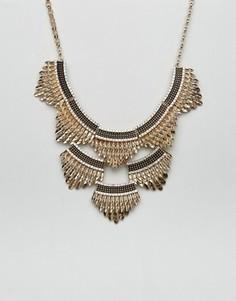Ожерелье ALDO - Золотой