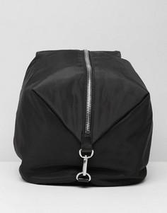 Рюкзак на молнии Monki - Черный