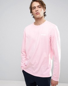 Лонгслив Carhartt WIP - Розовый