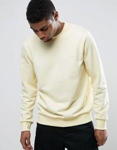 Свитшот с вышивкой Carhartt WIP - Желтый