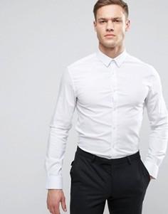 Узкая строгая рубашка Celio - Белый