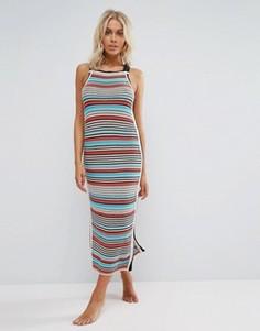 Платье кроше в полоску Seafolly - Мульти