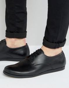 Туфли на шнуровке Zign - Черный