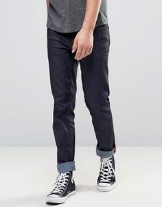 Темно-синие джинсы скинни Burton Menswear - Синий