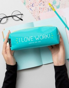 Happy Jackson I Love Work Pencil Case - Мульти
