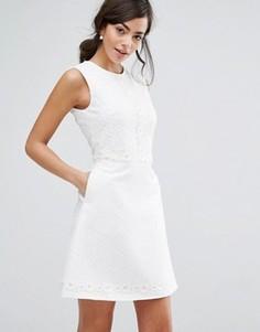 Платье Ted Baker Olara - Белый
