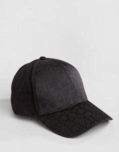 Бейсболка с логотипом Calvin Klein - Черный