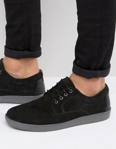 Черные замшевые кроссовки Red Tape - Черный