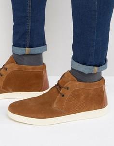 Светло-коричневые кроссовки в стиле ботинок чукка Red Tape - Рыжий