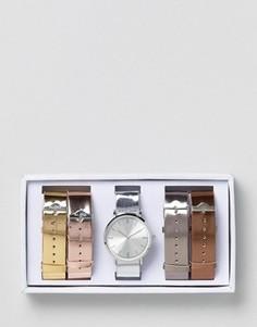 Часы со сменными ремешками металлик ALDO - Золотой