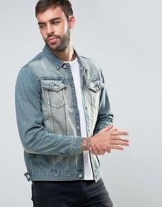 Голубая джинсовая куртка Dead Vintage - Синий
