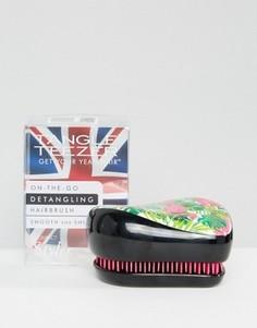 Компактный стайлер с фламинго Tangle Teezer x Skinny Dip - Черный