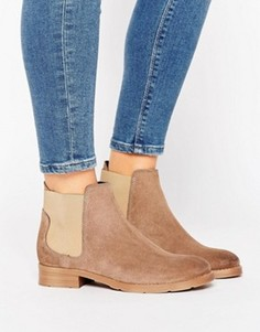 Ботинки челси из нубука Vero Moda - Stone
