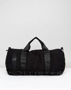 Сумка с логотипом Hollister - Черный