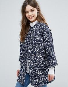 Куртка-кимоно Helene Berman - Темно-синий