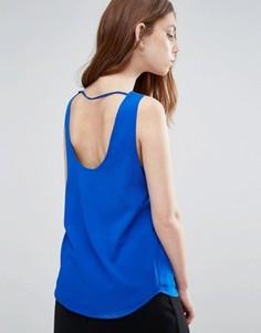 Майка с открытой спинкой Vero Moda - Синий