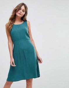 Цельнокройное платье Vila - Синий