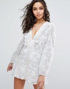 Платье мини с принтом Stevie May Bonnie - Мульти