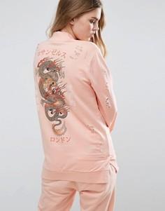 Свитшот Criminal Damage - Розовый