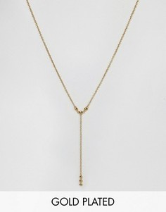 Позолоченное ожерелье Gorjana - Золотой
