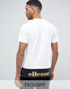 Футболка с логотипом Ellesse - Белый
