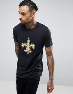 Футболка New Era NFL New Orleans Saints - Черный