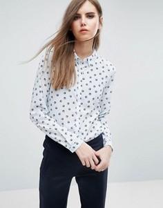 Рубашка с принтом Y.A.S - Синий