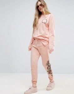 Джоггеры Criminal Damage - Розовый
