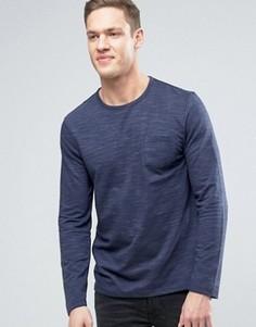 Фактурный свитшот Burton Menswear - Темно-синий