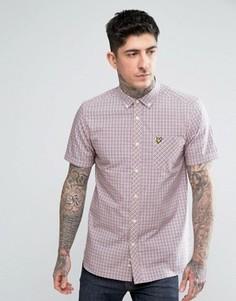 Рубашка в клеточку Lyle & Scott - Желтый