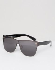 Черные солнцезащитные очки-маска AJ Morgan - Черный