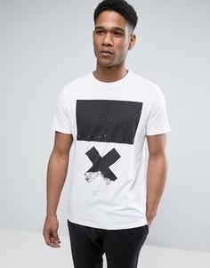 Белая футболка с принтом NYC X New Look - Белый