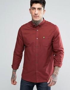 Оксфордская рубашка Lyle & Scott - Красный