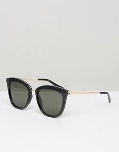 Cолнцезащитные очки кошачий глаз Le Specs - Черный
