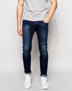 Темные джинсы скинни Esprit - Синий
