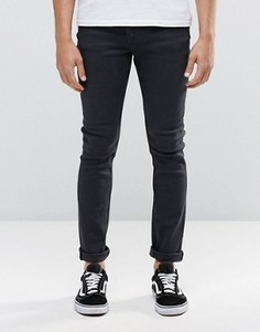 Черные выбеленные джинсы скинни Cheap Monday - Черный