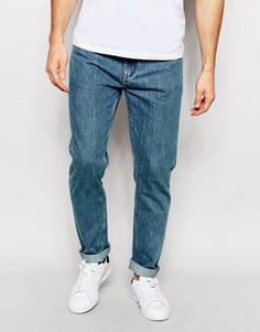 Свободные зауженные джинсы ADPT Vintage - Синий