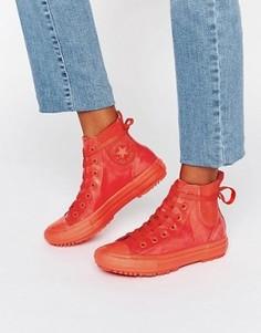 Резиновые ботинки челси Converse All Star - Красный