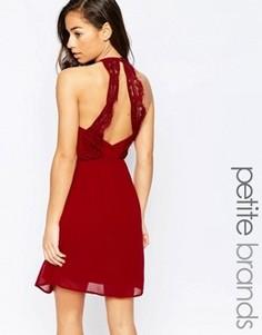 Платье с отделкой на спине Vero Moda Petite - Красный